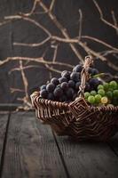 uvas frescas foto