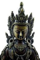 efígie budista foto