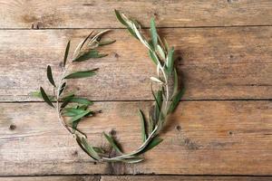 coroa de oliveira