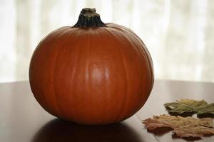 abóbora de outono foto