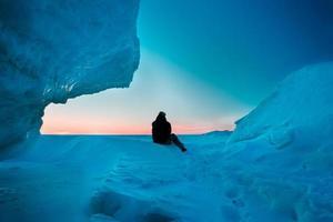 o gelo foto
