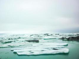 iceberg na Islândia foto