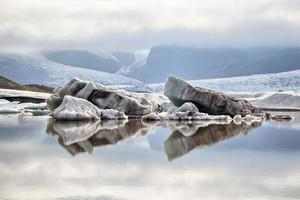 Lagoa da Geleira Fjallsarlon, Islândia