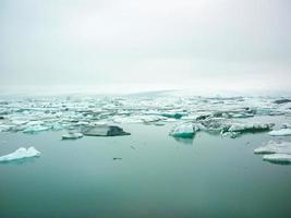 iceberg na Islândia