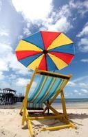 cadeira de praia foto