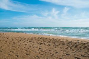 praia de belice foto