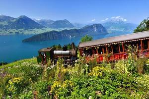 ferrovia a vapor na suíça