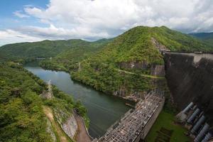 barragem na Tailândia. foto