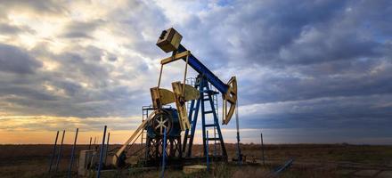 operação de poço de petróleo e gás