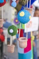 balão de crochê foto