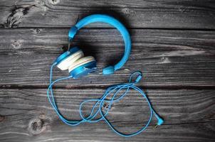 dj de fone de ouvido de música