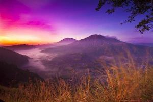 manhã em Batur foto