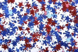 confete patriótico foto