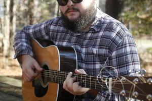 músico country foto