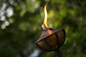 lâmpada a óleo