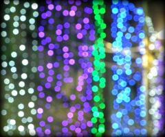 luzes de carnaval