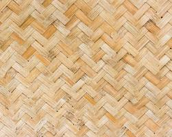 cena de trama de bambu