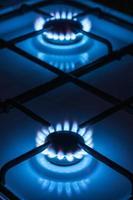dois queimadores de gás
