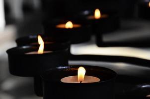 meditação com vela