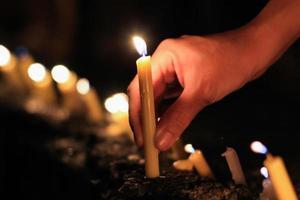 luz de velas