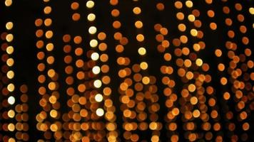 luzes desfocadas