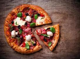 deliciosa pizza italiana