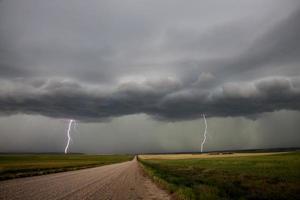 nuvens de tempestade da pradaria