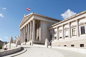 parlamento austríaco em viena
