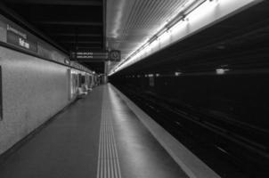 estação de u-bahn foto