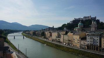 panorama da cidade de Salzburg