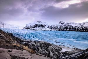 sólheimajokull myrdalsjokul Islândia foto