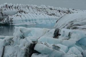 Gletscher Islândia foto