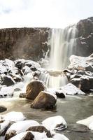 Cachoeira Pingvellir Islândia foto