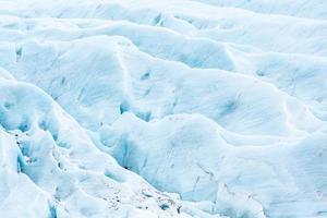 glaciar svinafell na Islândia foto