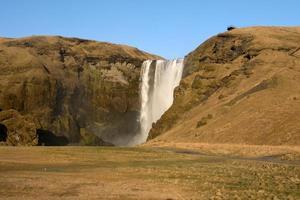 Cachoeira Skogafoss foto