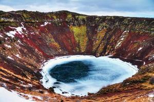 Kerid Crater Lake Islândia