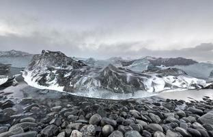 lagoa da geleira, jokulsarlon, islândia