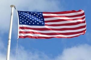 bandeira nacional americana foto