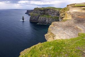 penhascos de Moher no condado de Clare, Irlanda foto