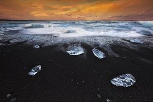 cristal de gelo foto