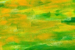 pintura verde e amarela