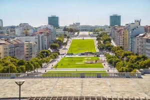 paisagem urbana em lisboa, portugal foto