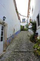 vila medieval romântica de óbidos