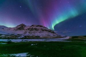 aurora aurora islandesa foto