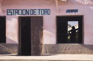 estação de trinidad - cuba foto