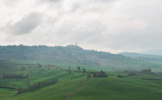 Val d'orcia na Toscana