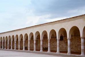 basílica papal de st. Francisco de Assis, Itália foto