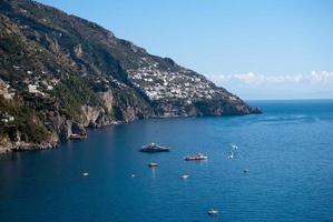 positano, costa amalfitana da itália foto