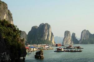 vietnã viagem praia oceano panorama ha long bay