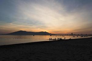 nascer do sol dos pescadores foto